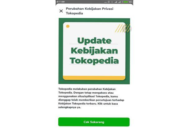 Aturan Baru Tokopedia Mirip WhatsApp, Benarkah Melanggar Hukum di Indonesia?