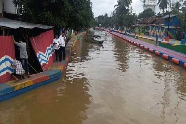 Cegah Banjir, BBWSS VIII Segera Normalisasi Belasan Anak Sungai di Palembang