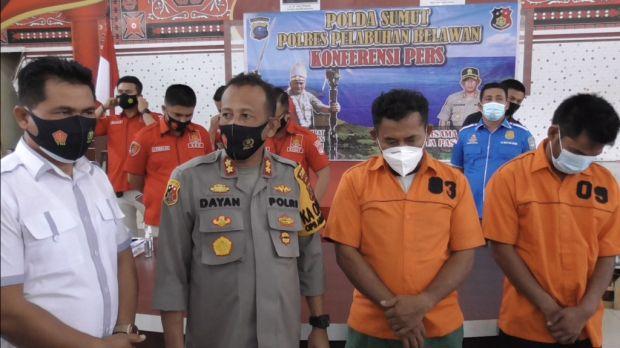 74 Bandar Narkoba Diciduk bersama 1 Kg Sabu di Belawan