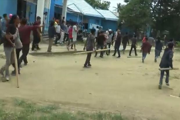 Mahasiswa HMI dan PMII Bentrok di Kampus Al'Asyariah Mandar, Belasan Korban Terluka