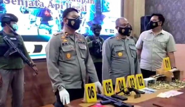 Diduga Jual Senpi ke KKB, Dua Oknum Polisi Ditangkap Polda Maluku