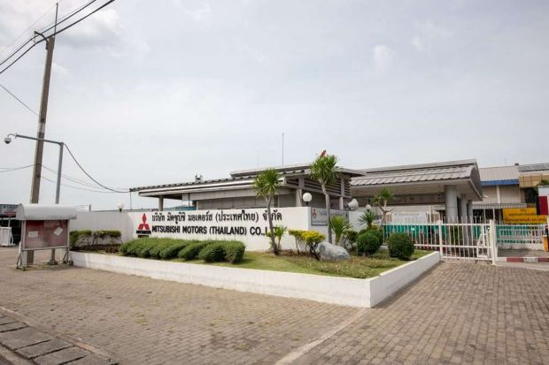 Keren, Atap Pabrik Mitsubishi di Thailand Gunakan Panel Surya
