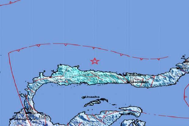 Gempa M 5,8 Buol Sulteng Dirasakan Kuat Warga Bone Bolango dan Toli-toli