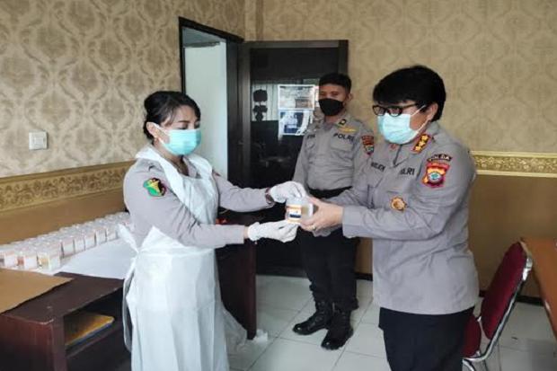 57 Personel Bidang Profesi dan Pengamanan Polda Sulut Mendadak Dites Narkoba