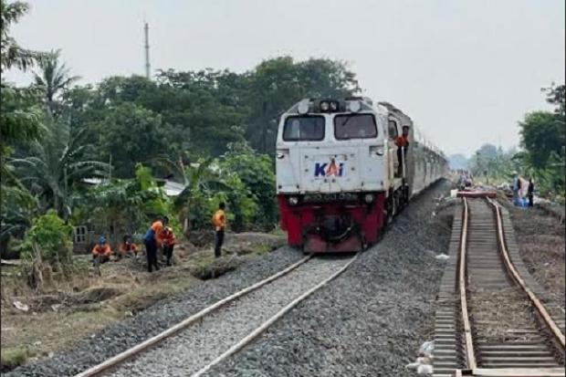 Perbaikan Selesai, Jalur KA Bandung-Jakarta Mulai Dibuka