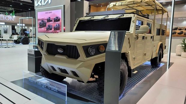 Kia Motors Siap Hadirkan Light Tactical Cargo Truck Baru