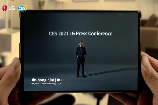 LG Bantah Batalkan Produksi Ponsel dengan Layar Bisa Digulung