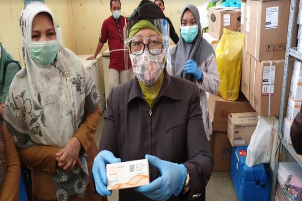 Vaksin Tahap II Diterima, Dinkes: Kuotanya Masih Dibawah Pengajuan
