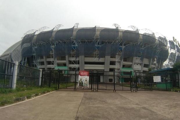 Heboh Ada Kolam Ikan di Stadion GBLA Bandung, Begini Kondisi Terkini