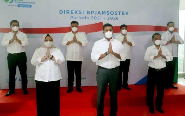 BPJamsostek Jawa Timur Siap Dukung Kerja Direksi yang Baru Dilantik Presiden