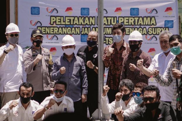 200.000 Lampu PJUTS Segera Dipasang di 18 Provinsi