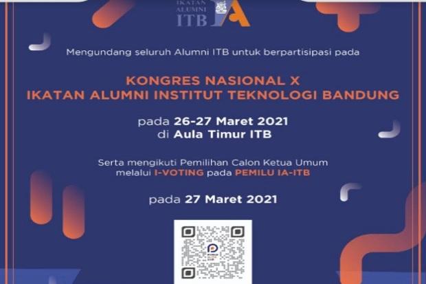 Kongres Ikatan Alumni ITB Digelar secara Daring, Pemilihan Ketum Sistem I-voting