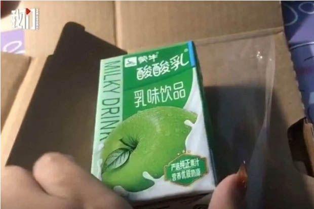 Pesan iPhone 12 Pro Max, Perempuan di China Terima Minuman Yogurt Rasa Apel