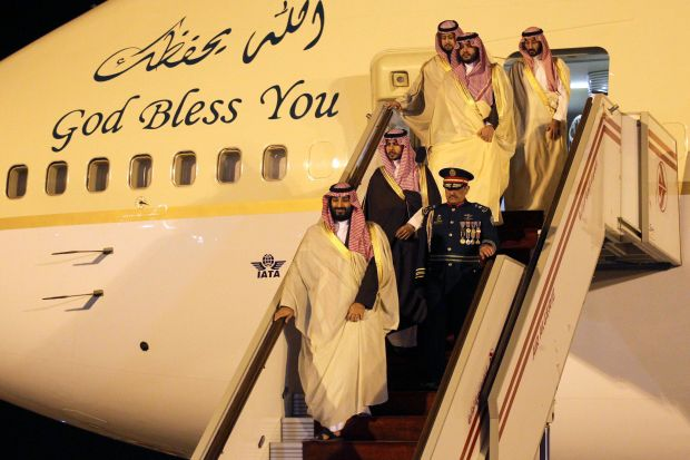 Melihat Mewahnya Perusahaan Jet Pribadi Putra Mahkota Arab Saudi