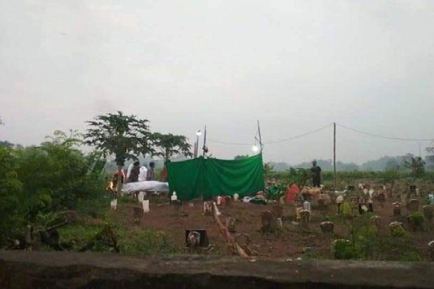 Polisi Bongkar Makam PSK yang Tewas di Tempat Pembakaran Bata Merah