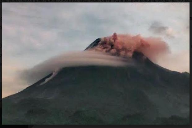 Aktivitas Merapi Masih Tinggi, Pagi Ini Semburkan 2 Kali Awan Panas dan 17 Kali Lava Pijar
