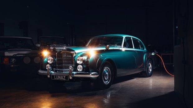 Perdana, Ini Dia Bentley Klasik Listrik Pertama di Dunia