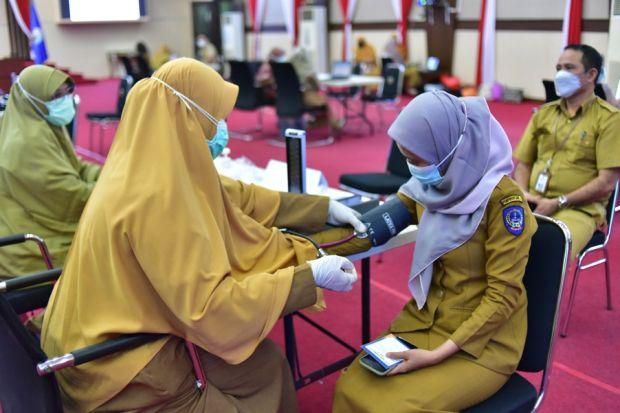 Minat ASN Pemkot Makassar untuk Vaksinasi COVID-19 Masih Minim