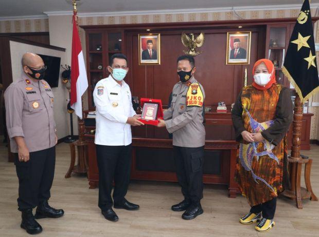 Gubernur Kepri Silaturahmi ke Polda, Bahas Hukum dan Penanganan COVID-19