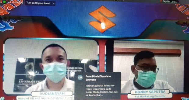 Pandemi Covid-19 Tak Halangi Kinerja Suzuki di Tahun 2020