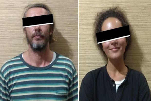 Hendak Masuk Bali, Sepasang Bule Ditangkap Palsukan Surat Tes PCR