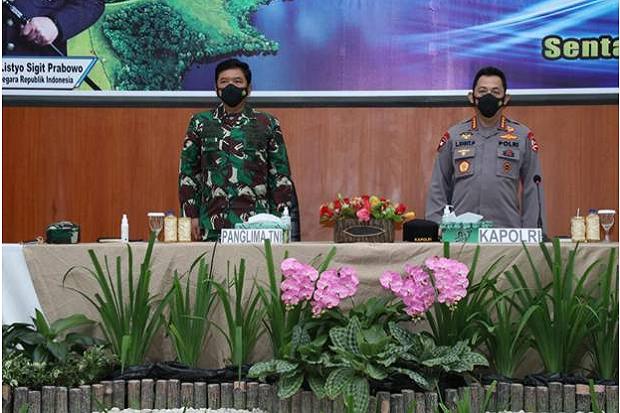 Panglima TNI dan Kapolri Kunjungi Batam, Hadiri Pelepasan MTF