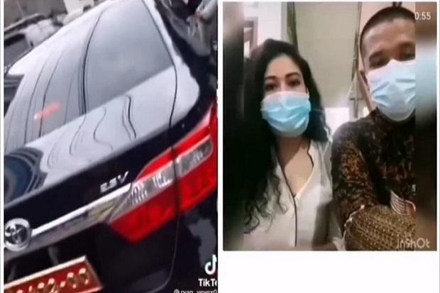 Wanita Cantik yang Videonya Viral Pamer Plat Nomor TNI di Tik Tok, Ditangkap POM TNI