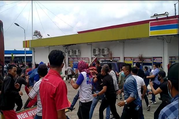 KLB Partai Demokrat di Deliserdang Ricuh, Seorang Warga Terluka