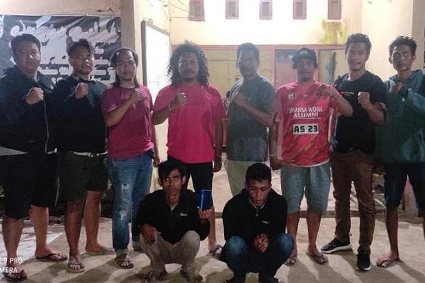 Kasus Jambret Resahkan Warga,2 Pelaku Diringkus Tim Opsnal Brimob NTB