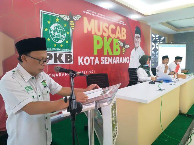 Kembali Terpilih Menjadi Ketua PKB Semarang, Mahsun Pasang Target Pemilu 2024