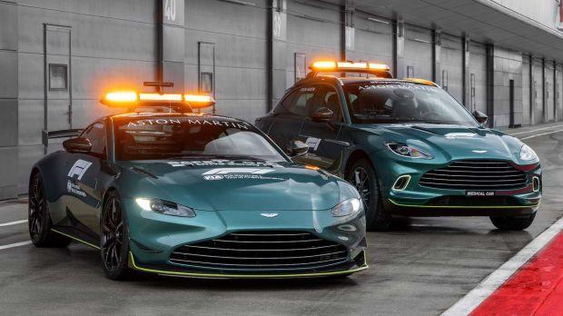 Dua Mobil Aston Martin Resmi Jadi Mobil Dinas Formula 1 Musim 2021