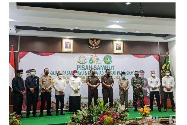 Bupati dan Wakil Bupati Pasangkayu Hadiri Pisah Sambut Kajari dan Ketua IAD