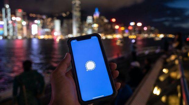 Aplikasi Chatting Signal Diblokir di China