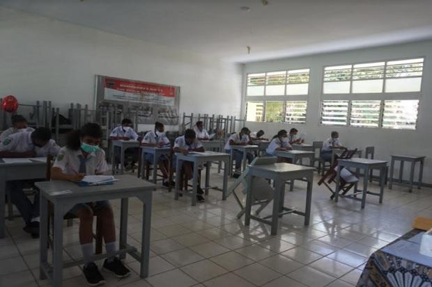 Ujian Siswa Dilaksanakan secara Tatap Muka, Ini Alasan SMKN 2 Jayapura