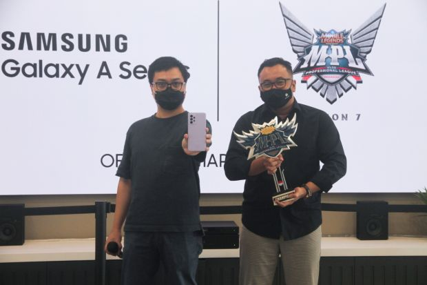 Resmi, Samsung Galaxy A Series Jadi Official Smartphone di MPL Indonesia