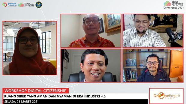 Digital Citizenship Indonesia Kenalkan Literasi Keamanan dan Etika di Ruang Siber