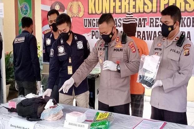 Polisi Berhasil Ringkus Bandar Narkoba Jaringan Lintas Provinsi di Muratara