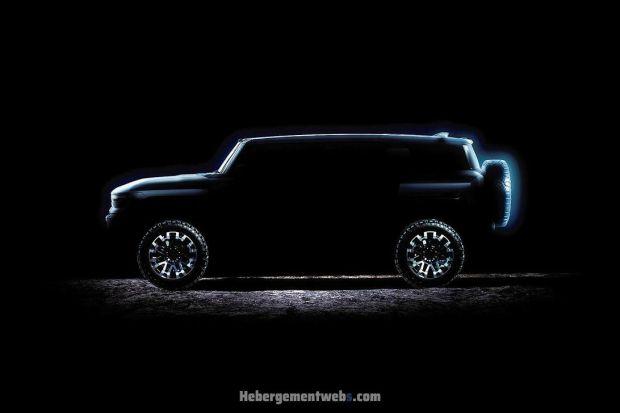 Siap-siap, GMC Hummer Listrik Versi SUV Debut 3 April