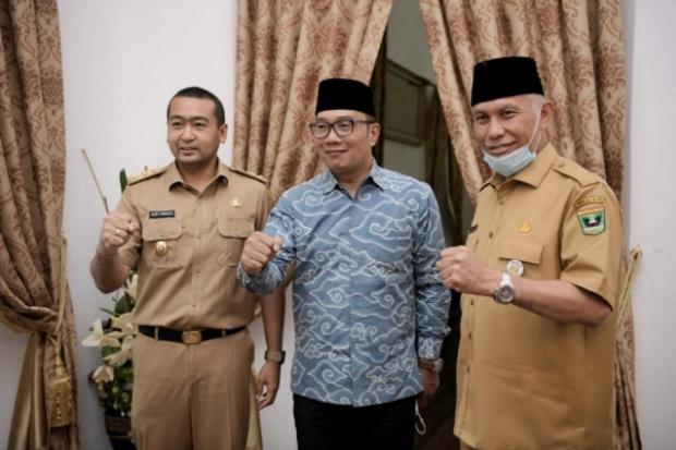 Bertemu Gubernur Sumbar, Ridwan Kamil Gali Potensi Kerja Sama