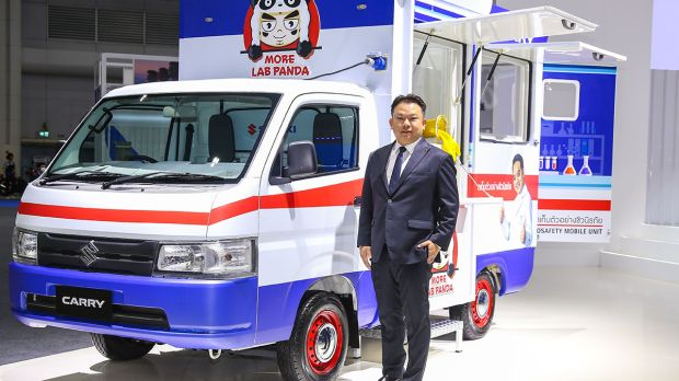Lab Berjalan Suzuki Carry Siap Perang Melawan Covid-19