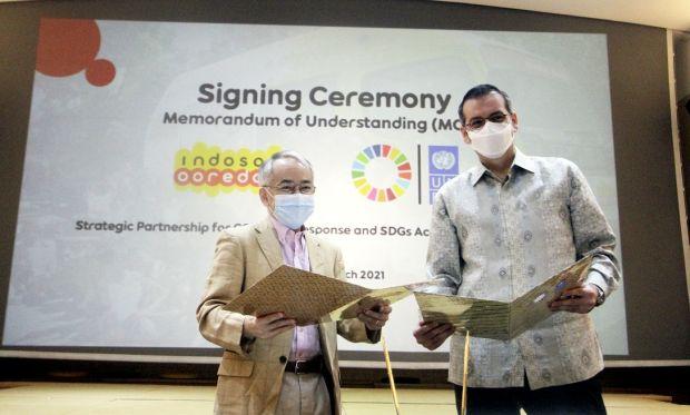 UNDP dan Indosat Ooredoo Collab Dorong Ibu-Ibu Berwiraswasta