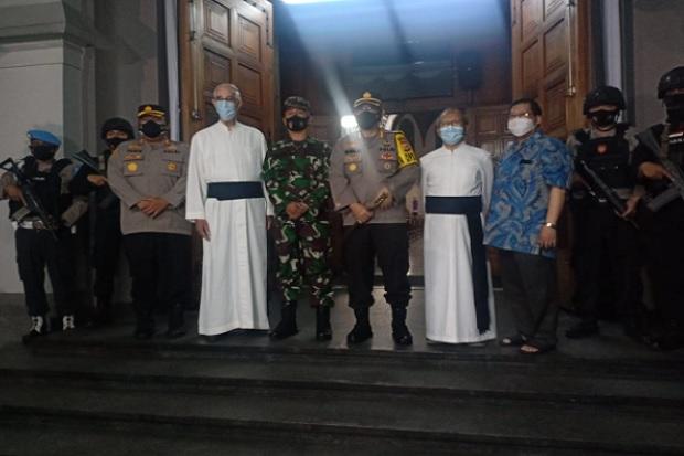Jaga Gereja di Bandung, 2.000 Personel Polri dan TNI Dikerahkan