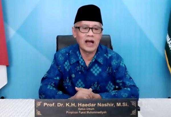 Prof Haedar Tanggapi Anggapan Shaf Berjarak Sebagai Mazhab WHO