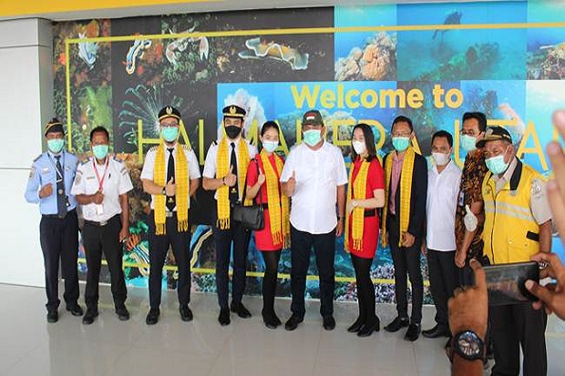 Ada Rute Penerbangan Baru Manado-Kao, Sulawesi Utara ke Maluku Utara Semakin Mudah