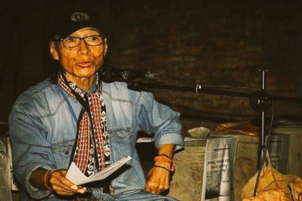 RS Nyatakan Penyair Umbu Landu Paranggi Meninggal Karena COVID-19