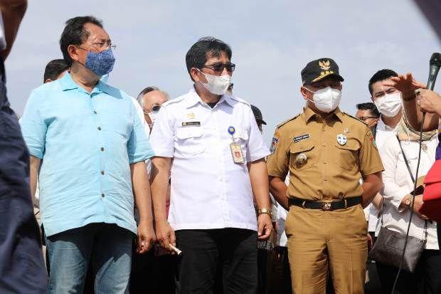 Gubernur Kalteng Dampingi Sejumlah Menteri Tinjau Kawasan Food Estate