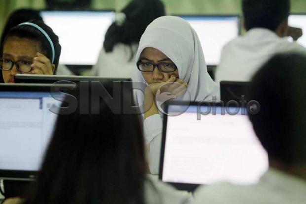 Pakai Sistem IRT, Puluhan Ribu Siswa Ikuti Tryout Online UTBK Nasional