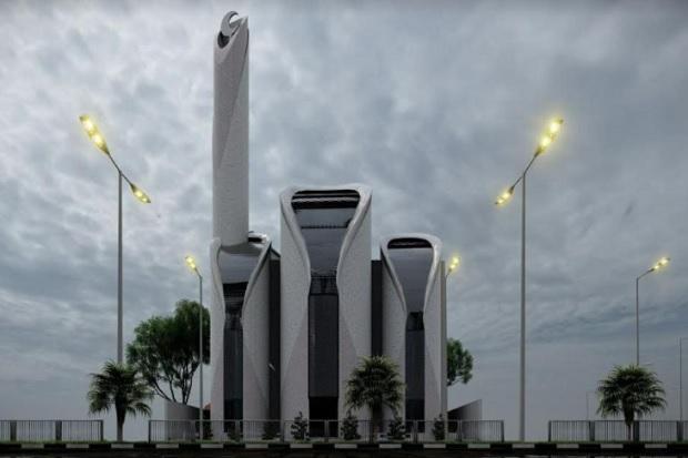 Dirancang Ridwan Kamil, Masjid Syaikh Ajlin di Palestina Mulai Dibangun