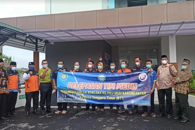 Tim Medis PKU Muhammadiyah Terjun ke Lokasi Bencana Banjir Bandang di Lembata NTT