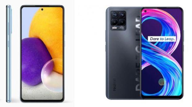 Banyak Fitur dalam Desain Segar, Ini Perbandingan realme 8 Pro dan Galaxy A52